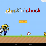 Chick'N'Chuck - Home screen