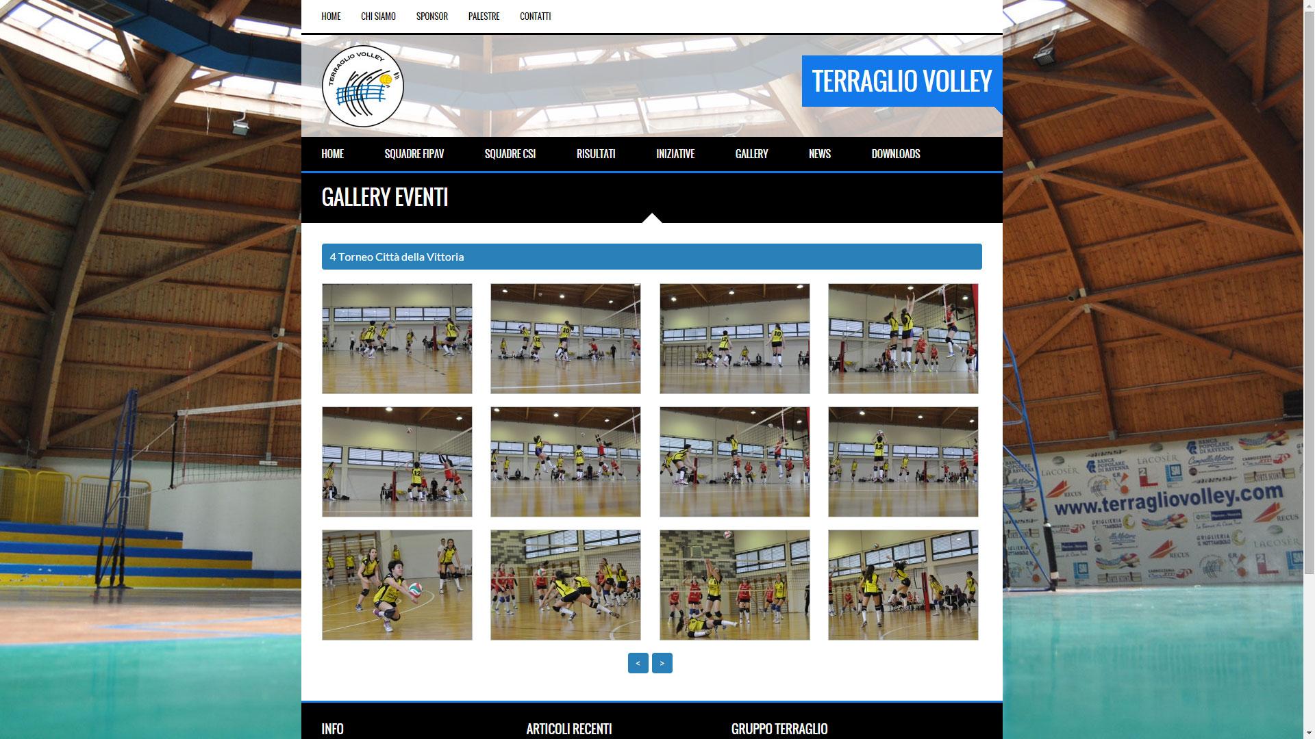 Terraglio volley flare design for Valotti arredamenti